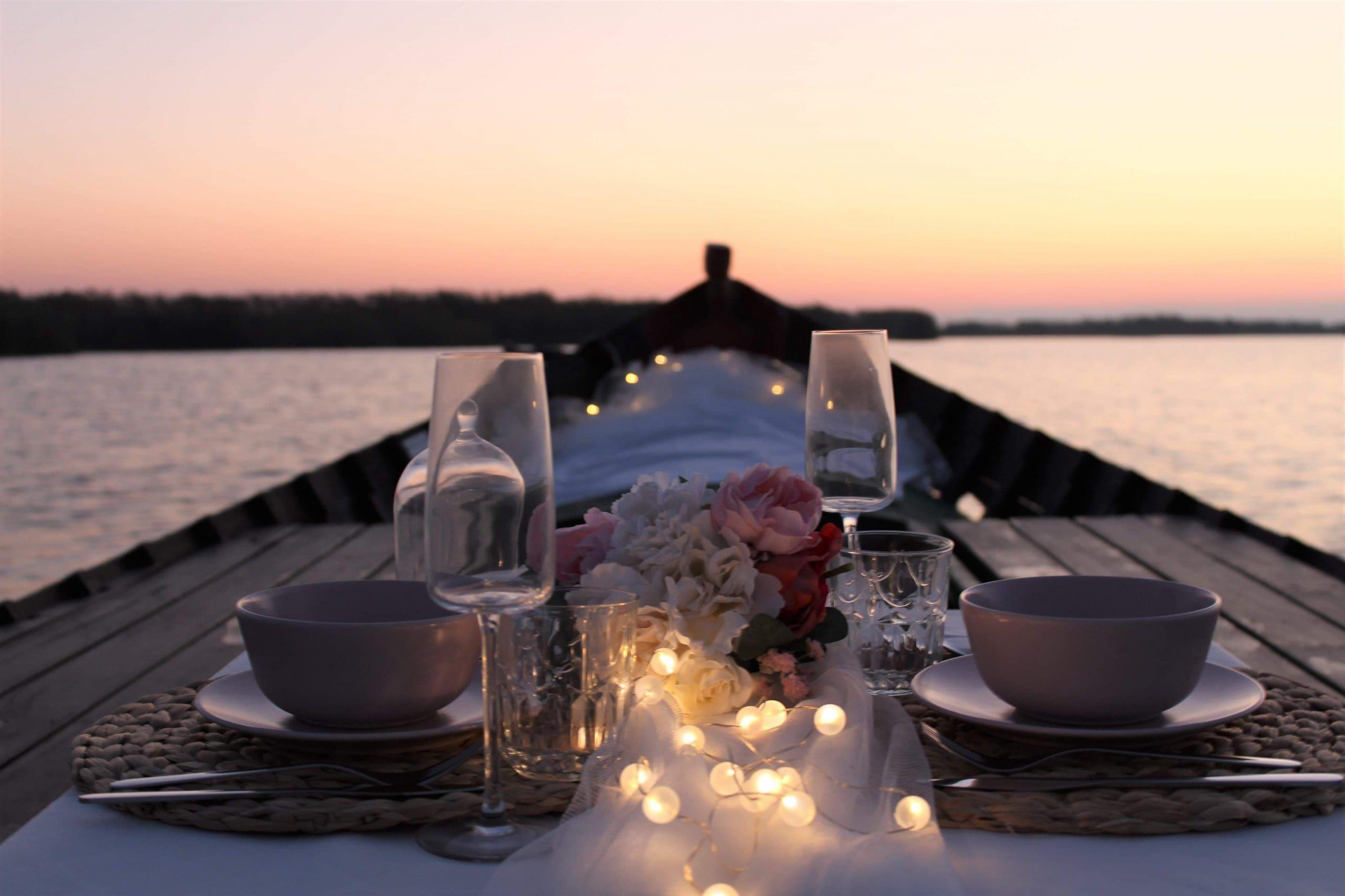 Paseo en barca romantico la Albufera