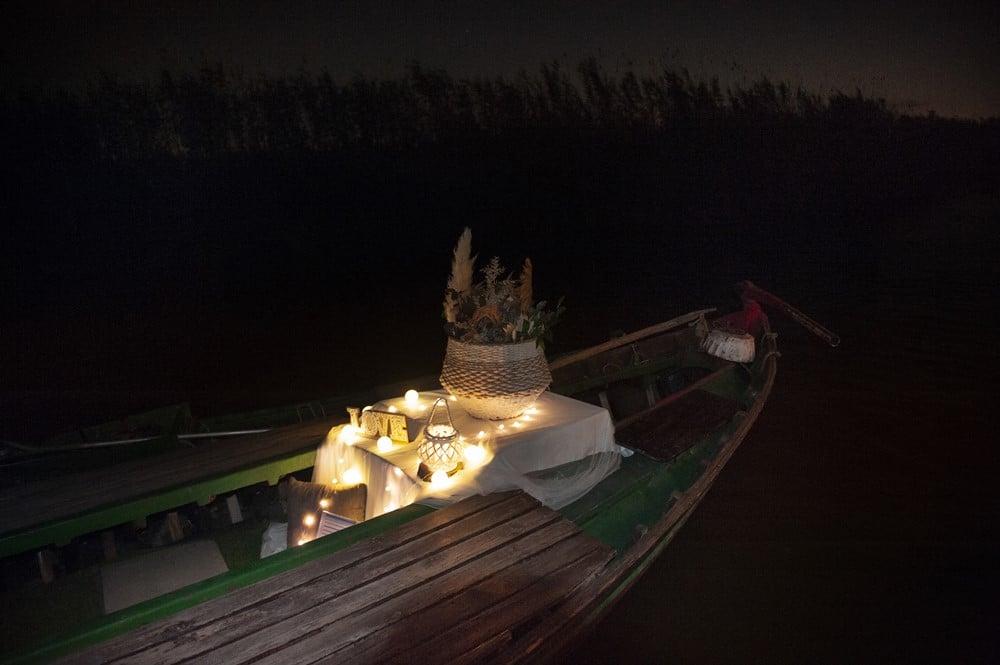 Paseos románticos barca albufera